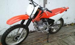 2009 Honda CRF230F. Bought new in 2009 and only ridden twice. Never dropped or jumped, in near mint condition. Has been garage stored. Aside from the only two rides its seen, it has only left the garage for its regular maintenance which has been routinely