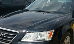 Make Hyundai Model Sonata Year 2009 Colour Black kms 108328 Trans Automatic Well maintained vehicle. New premium tires and brakes. High intensity head lights. Excellent fuel mileage. All recommended manufacture servicing done. Selling certified. Need gone