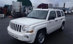 Make Jeep Model Patriot Year 2009 Colour White kms 164364 Price: $6,420 Stock Number: BC0026884 Interior Colour: Black Cylinders: 4 Fuel: Gasoline 2009 Jeep Patriot North Edition 4WD, 2.4L, 4 cylinder, 4 door, automatic, 4WD, 4-Wheel ABS, cruise control,