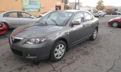 Make Mazda Colour Grey Trans Manual kms 154000 2009 Mazda3 4 Door Sedan with 152 000 kms on it , vehicle Features a 2.0 L 4 Cylinder Engine , Fuel Efficient car , 5 speed manual transmission SIMPLE PRICING ,ASKING PRICE +HST & LICENSING *Bilingual, no