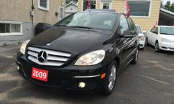 Make Mercedes-Benz Model B-Class Year 2009 Colour Black kms 85000 Trans Automatic HELLLLOOO OTTTTAWAAA! PANORAMIC SUN ROOF! 4 MATIC! AM/FM Stereo, Air Conditioning, Anti-Lock Brakes (ABS), CD Player, Dual Airbag, Fog Lights, Intermittent Wipers, Keyless
