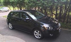Make Pontiac Model Vibe Year 2009 Colour Black kms 72400 Trans Automatic 2009 Pontiac Vibe in excellent condition. Black, four door, 2.4 litre, automatic, alloy wheels, low profile tires, 72400 KM, well-maintained, no accidents, service records since 2012