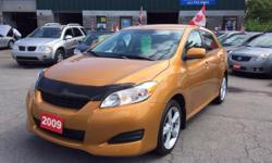 Make Toyota Model Matrix Year 2009 Colour Orange kms 115000 Trans Automatic HELLLLOOO OTTAWAAA!!! NO ACCIDENTS! CLEAN CAR PROOF! AM/FM STEREO, AIR CONDITIONING, CD PLAYER, CRUISE CONTROL, DAYTIME RUNNING LIGHTS, DUAL AIRBAG, INTERMITTENT WIPERS, KEYLESS