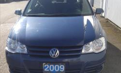 Make Volkswagen Model Golf City Year 2009 Colour Blue kms 75000 Trans Manual This 2009 City Golf is BC born and raised and priced to move. It comes with power heated mirrors, a 5-speed manual transmission, soft touch cloth seats and fog lights. With only