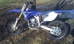 2009 YZ250F with approximately 66 hours on it. Black excel rims, Braking oversized front brake rotor, DR.D exahust (original exhaust included), Factory Connection suspension, extra sets of plastic and a few other items as well.  Bike was bought brand new