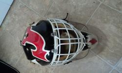 Mask is in great condition with some wear and tear from use.