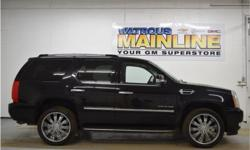 Make Cadillac Model Escalade Year 2010 Colour Black Raven kms 129682 Trans Automatic Price: $29,995 Stock Number: M6968A Engine: Gas/Ethanol V8 6.2L/378 Cylinders: 8 Fuel: Flex Fuel Take a look at this 2010 Cadillac Escalade AWD! There's not much this