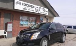 Make Cadillac Model SRX Year 2010 Colour Black kms 174000 Trans Automatic It's your turn to own a Cadillac !! 6 cylinder engine, Automatic Transmission, 4 doors plus power tailgate Power windows and door locks Air conditioning and cruise control. Heated