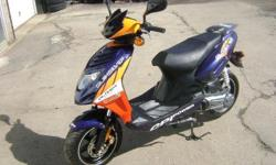 2010 CPI Oliver Scooter - 49cc, Well Maintained, Very good condition. 2,537 KM's. Curtis: 514-947-1960