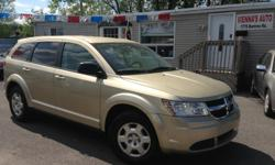 Make Dodge Model Journey Year 2010 Colour beige kms 105214 Take advantage of this amazing deal!!! 4 cylinder FWD, AC, keyless entry, Power windows, power locks, AUX Cable, great space, like-new tires Safety and etest included! SIMPLE PRICING ,ASKING PRICE