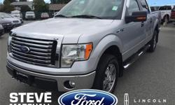 Make Ford Model F-150 Year 2010 Colour Silver kms 83277 Trans Automatic Price: $25,995 Stock Number: 165601 Engine: 8 Cylinder Engine This F-150 was purchased and serviced here at Steve Marshall Ford and kept extremely clean! With low KMS for the year,