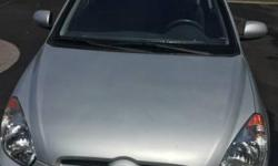 Make Hyundai Model Accent Year 2010 Colour Silver kms 126000 One owner, regular oil change, good shape. Downsizing to one car. Sad to let it go.