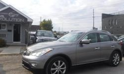 Make Infiniti Model EX35 Luxury Year 2010 Colour GREY kms 126000 Trans Automatic EXTRA SET OF TIRES INCLUDED WITH THIS PURCHASE 6 MONTHS WARRANTY WITH PURCHASE FOR FREE ! 2010 INFINITI EX35 AWD PREMIUM !! V6 3.5L ENGINE POWERFUL LUXURIOUS RIDE ! WITH