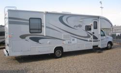 """2010 Greyhawk 31SS Class """"C"""" Motorhome! Rear Queen Island Bed Ford V-10 with Low Miles Generator Power Awning Front Entertainment Center Sleeps 6, etc. Come and Take a look at this Beauty! Only $342/biweekly with $0 Down or $69,900"""