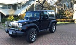 Make Jeep Model Wrangler Year 2010 Colour Black kms 73000 Trans Manual Super Nice 2010 Jeep Wrangler. Previous one owner purchased new in Nanaimo. 73,000 Kim's. After market rims with good Michelin radials. Comes with new pulley system for removable