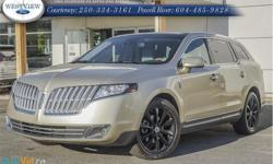 Make Lincoln Model MKT Year 2010 Colour Gold kms 96712 Trans Automatic Price: $22,988 Stock Number: 14173A Interior Colour: Beige Engine Configuration: V-shape Cylinders: 6 Fuel: Regular Unleaded All our used vehicles at Westview Ford receive a full