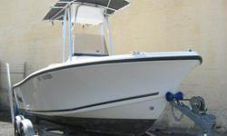 This is a nice fishing boat which has low hours and only one previous owner. This boat comes with an EZ-Loader aluminum trailer with disc brakes. Stock #: 820121 Construction: Fiberglass Engine Config.: Out board (OB) Motor Manufacturer: MERCURY Engine