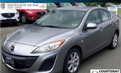 Make Mazda Model MAZDA3 Year 2010 Colour Aluminium metallica mica kms 71387 Trans Manual Price: $10,999 Stock Number: 16MZ32020A Interior Colour: Black Cylinders: 4 Fuel: Regular Unleaded One Owner - 5 Speed Manual Transmission - Sunroof - Air