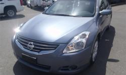 Make Nissan Model Altima Year 2010 Colour Grey kms 105978 Price: $9,250 Stock Number: BC0027428 Interior Colour: Black Fuel: Gasoline 2010 Nissan Altima 2.5 S, 2.5L, 4 door, automatic, FWD, 4-Wheel AB, cruise control, air conditioning, AM/FM radio, CD