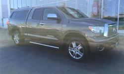 Make Toyota Model Tundra Year 2010 Colour Bronze kms 132056 Trans Automatic Price: $27,995 Stock Number: 160863A Engine: 5.7 Cylinders: 8 Fuel: Gasoline We have a team of highly-experienced sales and service staff to serve our customers with the highest