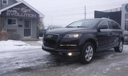 Make Audi Model Q7 Year 2011 Colour GREY kms 108000 Trans Automatic 6 MONTHS WARRANTY WITH PURCHASE FOR FREE ! 2011 AUDI Q7 QUATTRO , LOADED 7 PASSENGERS FINE AWD SUV !! V6 3.0L ENGINE PERFECT LUXURY FAMILY SUV ! WITH AUTOMATIC TRANSMISSION, FULLY