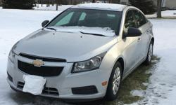 Make Chevrolet Model Cruze Year 2011 Colour Silver kms 98000 Trans Manual A nice, reliable 2011 Chevrolet Cruze. Only 98,000km! All season and winter tires. New Clutch and Brakes recently. Power steering, power locks, remote keyless entry, cruise control,
