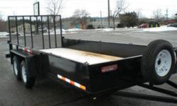 """The Trailer Depot 1539 Chemong Road Peterborough, Ontario K9J 6X2   tel(705)741-5631 or (705)761-2518 fax(705)741-2860 cell(705)868-1670   http://www.thetrailerdepot.ca   """"WE ACCEPT TRADES AND CONSIGNMENT TRAILERS """"   PRICE INCLUDES FREIGHT AND P.D.I"""