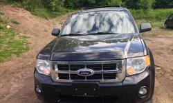 Make Ford Model Escape Year 2011 Colour BLACK kms 279552 Trans Automatic CERTIFIED POWER DOORS LOCKS, WINDOWS, MIRRORS, SEATS. CD/AM/FM CRUISE CONTROL, AIR CONDITIONER. HIGHWAY MILES RUNS WELL, DRIVES WELL. CERTIFIED.