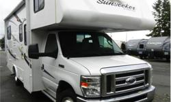 Price: $44,995 Stock Number: RV-1792A Fuel: Gasoline Beautiful Class C Motorhome in wonderful condition with large u-shaped dinette tons of storage and wood finishing throughout... Sleeps 6 & only 111,200km!Call or come into Sunwest RV Centre today to see