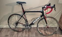 Complete Shimano Ultegra 6700-series component group - Contact handlebar & stem, Vector Advanced composite seatpost - Wheelset: DT Swiss TRICON R 1700 tubeless-compatible Bike is in great shape, very well maintained, ready to roll. This bike wants to go