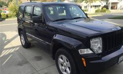 Make Jeep Model Liberty Year 2011 Colour Black kms 95000 Trans Automatic 3.7L V-6 Engine Four wheel drive 4x4 210 hp A/C Power everything Cruise control Keyless entry Back seats fold down for lots of storage space Great Jeep, we love it! We're looking to