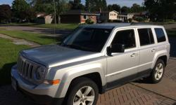 Make Jeep Model Patriot Year 2011 Colour silver kms 84000 Trans Automatic Great shape, Clean, Low km's, Reduced price for quick sale, Motivated seller. 4x4, automatic, remote start, power windows, locks, mirrors, ac, remote entry.