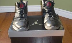 Black/Varsity red-Dark grey Great condition Only worn a few times indoors Size 11.5 65.00$ obo