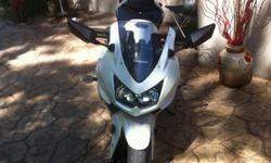Excellent condition; purchased brand new in June, 2011. Special edition paint job. This is a beautiful sport bike. Sale can include motorcycle jacket, helmet and gloves - all purchased in June, 2011. I have upgraded to a larger bike and must part with