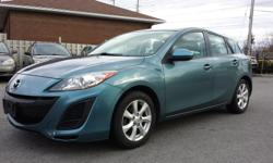 Make Mazda Model MAZDA3 Year 2011 Colour Blue kms 92257 Trans Manual 7960 + TAX + LICENSING 92375 KMS CERTIFIED AND ETESTED, MANUAL TRASMISSION, 5 SPEED, 92375 KMS, POWER LOCKS, POWER WINDOWS, TILT, AC, CD, ALLUMINUM WHEELS. WE ALSO DO QUEBEC SAFETY FOR