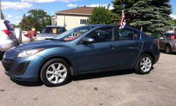 Make Mazda Model MAZDA3 Year 2011 Colour Blue kms 168958 Trans Automatic ***VISIT WEBSITE LINK FOR INFORMATION*** http://www.selectcarsales.ca/Vehicle?v=1918-2184873 + taxes