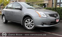 Make Nissan Model Sentra Year 2011 Colour Grey kms 64858 Trans Automatic Price: $9,990 Stock Number: A6808 Interior Colour: Grey Cylinders: 4 **ONE OWNER**LOCALLY DRIVEN**LOW KM**This gray 2011 Nissan Sentra S is a great pick for a compact sedan. It
