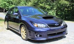Make Subaru Model WRX STi Colour Blue Trans Manual kms 87167 ** Low Kilometers - No Accidents - BC Local - Non Smoker - All Wheel Drive - Navi ** This 2011 Subaru Impreza has Low Kilometers, and has never been smoked in, and is BC local with no Accidents.
