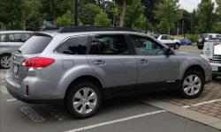 Make Subaru Colour Grey Trans Automatic kms 73760 2011 Subaru Outback 3.6R 73,760 Kim's. Excellent condition. Full load of options including navigation. Black leather interior, new tires and battery within the year. This car out performs the 4cylinder