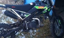 This is a 2011 Dirtbike ready to go its a 2011 it's green and it's a 140cc Dirtbike it's a good fast bike, kick start will need to be changed just not anytime soon thanks if interested email me!! Thanks for reading !! Great buy NO LOW BALLING!!!! Will not