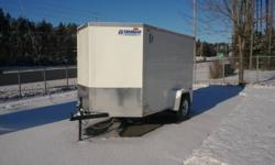 2012 United Cargo Trailer. Ramp Door, Stabilizer Jacks, Side Door, Checkerplate Stone Guard, Wall Vents, Interior Light, Wedge Front, 4 Tiedown D-Rings, Dexter EZ-Lube Axle Full trailer line available Parts in stock Sales and Service to any type of