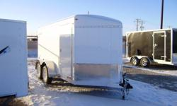"""STOCK# HH3330...7000# RUBBER TORSION AXLES....REAR BARN DOOR....UNDERCOATED...32"""" SIDE DOOR...040 ALUMINUM EXTERIOR...ROOF VENT...DOME LIGHT WITH WALL SWITCH...3/8"""" PLYWOOD WALL LINER....FOR MORE INFO CALL WILF'S ELIE FORD TOLL FREE AT 1-877-360-3673."""