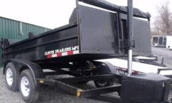 "16"" side with board braces, Front & Back 24"", 1 Brake on front axle, (2) 3500lbs axles, seal beam lights, 2-5/16 ball, 1/8"" steel floor, tarp & roller   THE ONLY AUTHORIZED CURTIS DEALER IN EASTERN ONTARIOAUTHORIZED FACTORY DIRECT PRICING!!! MERRY"