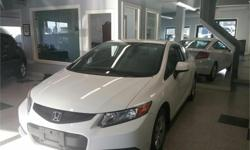 Make Honda Model Civic Year 2012 Colour White kms 103313 Trans Manual Price: $8,988 Stock Number: 601-003e Interior Colour: Black One of the most reliable cars ever made. This one is in immaculate condition. Great on gas, reliable. This is a local BC car