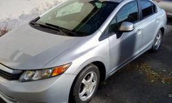 Make Honda Year 2012 Colour SILVER Trans Automatic kms 1824434 Price is negotiable but does not include taxes or plate transfer fees. 4 brand new snow tires on vehicle. Brand new brakes and rotors in the front. Options: Automatic, air conditioning, alloy