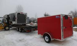 """The Trailer Depot 1539 Chemong Road Peterborough, Ontario K9J 6X2   tel(705)741-5631 or (705)761-2518 fax(705)741-2860 cell(705)868-1670   http://www.thetrailerdepot.ca   """"WE ACCEPT TRADES AND CONSIGNMENT TRAILERS""""   *****IN STOCK*****   MODEL#"""