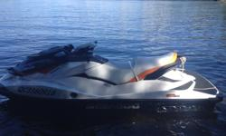 2012 SEA DOO 130 GTI 3 SEATER WITH BREAKING SYSTEM REVERSE 30 HOURS OF OPERATION WITH TRANSPORTATION COVER AND 2011 CARAVAN TRAILER PRICE $8900 NEGOTIABLE CONTACT MARC 819 643-9534
