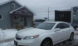 Make Acura Model TL Year 2013 Colour WHITE kms 169800 Trans Automatic 6 MONTHS WARRANTY WITH PURCHASE FOR FREE ! 2013 ACURA TL TECHNOLOGY Pkg FULLY LOADED !! V6 3.5L POWERFUL PREMIUM RIDE AND EASY ON GAS! AUTOMATIC TRANSMISSION, FULLY EQUIPPED LEATHER