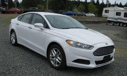 Make Ford Model Fusion Year 2013 kms 57224 One owner, accident free and local to Vancouver Island car. The 2013 Ford Fusion first entices with its handsome styling. A bold grille, curvaceous sheet metal and a slightly longer and wider body give the new