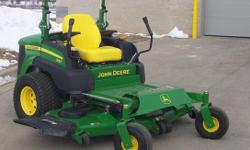 "2013 John Deere 1462TC Mower with 62"" Rear Discharge 4x4 2013 John Deere 997RBTC Mower with 60"" Rear Discharge"